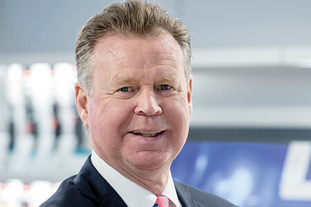 Headshot of Mike Hall, Simplyhealth's Non Executive Director, Senior Independent Director and Chair of the Remuneration Committee