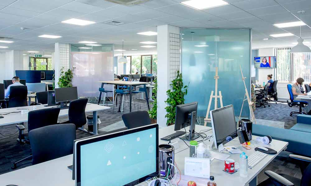 Simplyhealth's modern working environments created with sustainability at the forefront