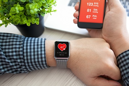 Monitoring heart health on smart watch