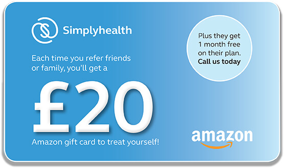 Recommend a friend and receive a £20 John Lewis and partners shopping gift card