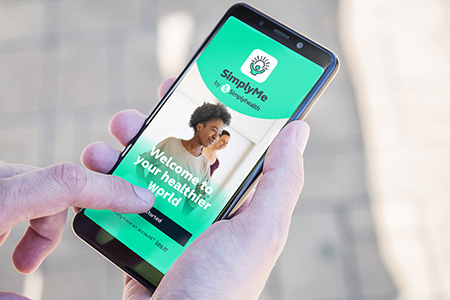 SimplyMe - the health and wellbeing app