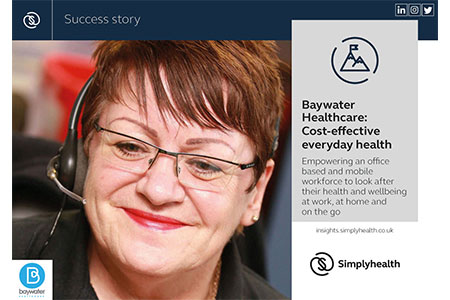 Simplyhealth Case Study - Baywater Healthcare: Cost-effective everyday health