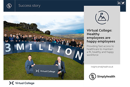 Simplyhealth Case Study - Virtual College: Healthy employees are happy employees