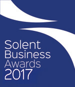 Solent Business Awards 2017 for Simplyhealth winning Corporate Social Responsibility Award