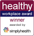 healthy workplace award logo