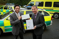 North West Ambulance achieves Healthy Workplace Status