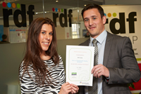 RDF Group achieves healthy workplace status