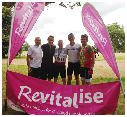 AU Ride for revitalise