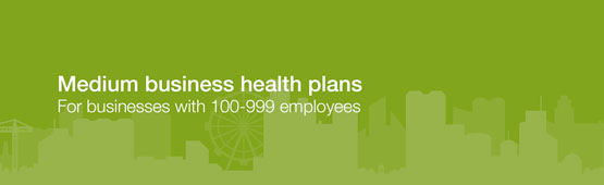 Medium business health plans.
