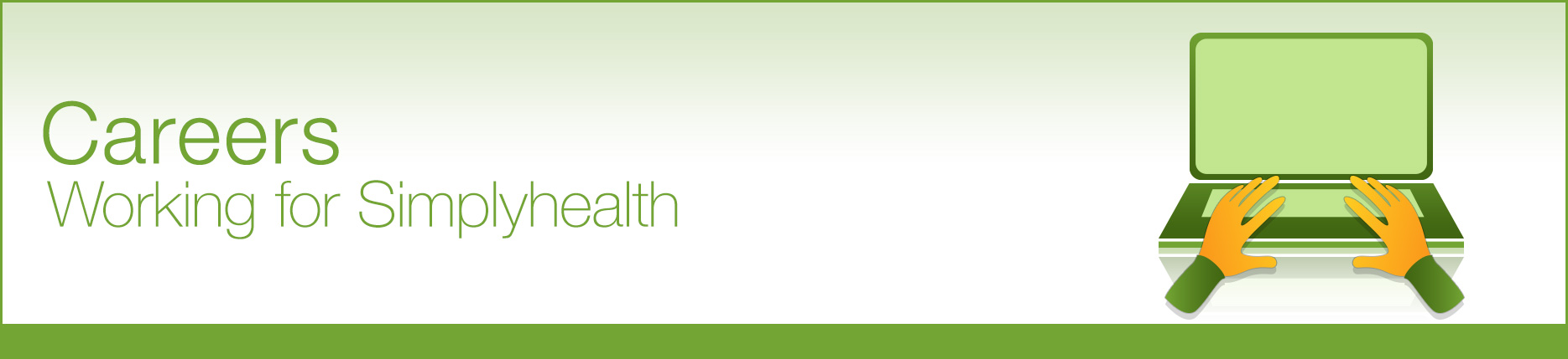Simplyhealth - Careers banner